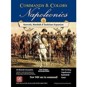 GMT Games Commands and Colors: Napoleonics Expansion 5: Generals, Marshalls, Tacticians