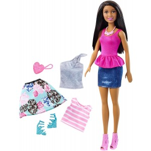 Barbie Nikki Doll and Fashion