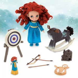 Disney Animators' Collection Merida Mini Doll Play Set - 5 Inch