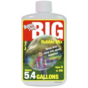 Bubble Thing BubbleThing: Big Bubble Instant Powder Refill Mix(Makes 5.4 Gallons)