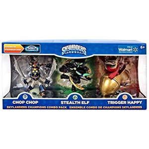 Skylanders Imaginators, Exclusive Champions Combo Pack (Chop Chop, Stealth Elf and Trigger Happy)