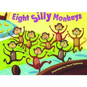 Bendon Inc. Bendon Publishing Eight Silly Monkeys Mini Board Book