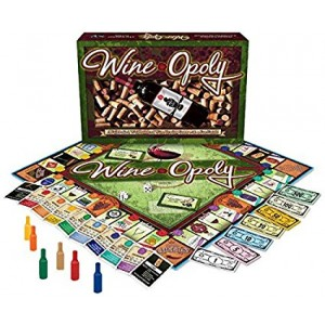 Late for the Sky Wine-Opoly Monopoly Board Game