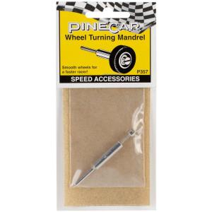 Woodland Scenics Pine Car Derby Speed Accessories, Wheel Turning Mandrel