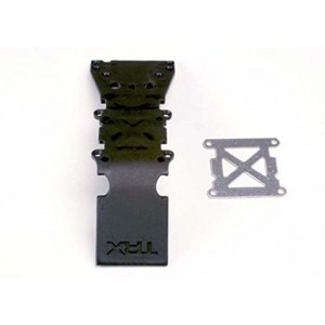 Traxxas 4937 Black Front Skid Plate