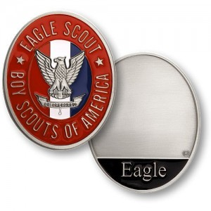 Boy Scouts of America Eagle Scout Nickel Challenge Coin
