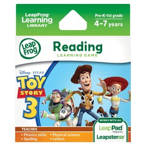 LeapFrog Disney-Pixar Toy Story 3 Learning Game (works with LeapPad Tablets and LeapsterGS)