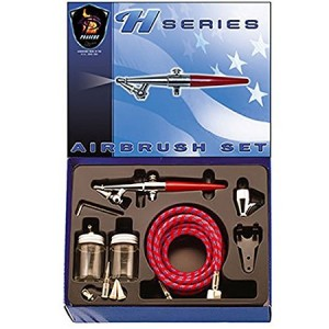 Paasche Airbrush Paasche H-SET Single Action Siphon Feed Airbrush Set