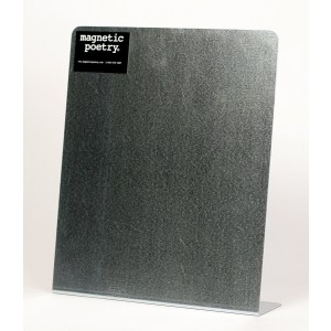Magnetic Poetry Educational Products - Metal Easel Board - 11x13 Inches