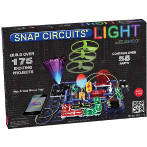 Elenco Snap Circuits Lights Electronics Discovery Kit