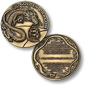 Northwest Territorial Mint Order of the Golden Dragon Challenge Coin