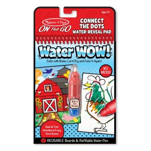 Melissa & Doug Melissa and Doug On the Go Water Wow! Connect the Dots Water Reveal Pad