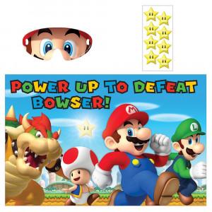 "Amscan Boys Super Mario Brothers Birthday Party Game (3 Piece), Multicolor, 37 1/2 x 24 1/2"""