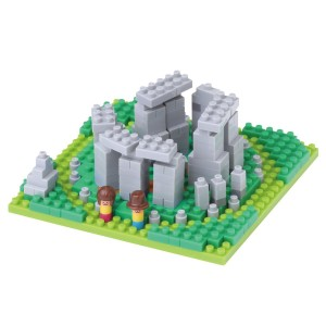 Nanoblock Stonehenge Building Blocks Kit (240 Piece)