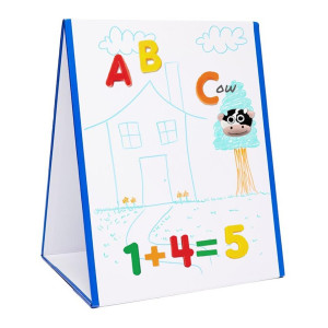 EduKid Toys Tabletop MAGNETIC EASEL and WHITEBOARD (2 Sided)
