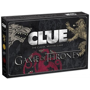 USAopoly CLUE: Game of Thrones Board Game