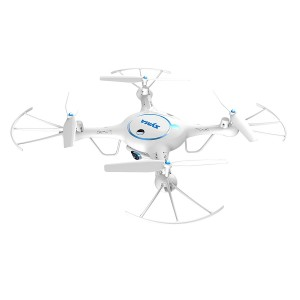 Yanni SYMA X5UW 2.4Ghz RC Quadcopters,Headless Wifi FPV Drones Multirotors With 720P HD Camera, Flight Plan Route Setting/ Altitude Hold Function/ Bonus Battery Included(White)
