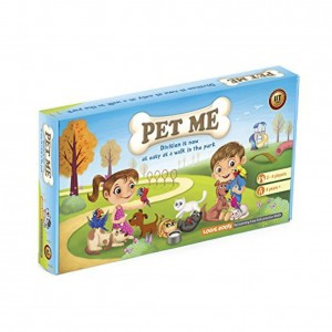 LogicRoots PET ME multiplication and division board game STEM Toy Math manipulative and gift for 8 years and up