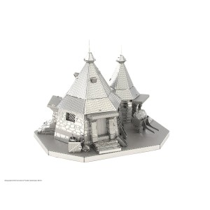 Fascinations Metal Earth Harry Potter Hagrid's Hut 3D Metal Model Kit