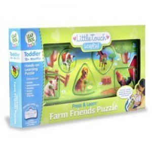 LeapFrog Toys LeapFrog Press and Learn Farm Friends Puzzle