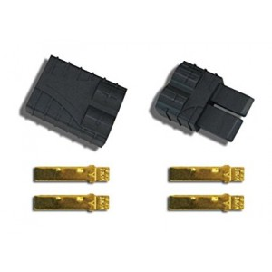 Traxxas 3060 High-Current Connector Plugs (1 male, 1 female)