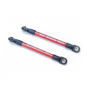 Traxxas 5918X Red-Anodized Aluminum Push Rod with Rod Ends, Progressive 2 (pair)