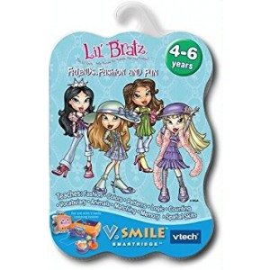 VTech V.Smile Smartridge Cartridge - Lil' Bratz - Friends, Fashion and Fun