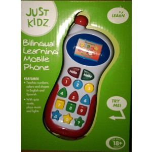 Bilingual Learning Mobile Phone by Just Kidz