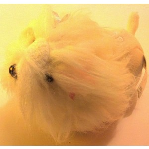 Cepia Zhu Zhu Puppies Dog Sabrina - Maltese (White)