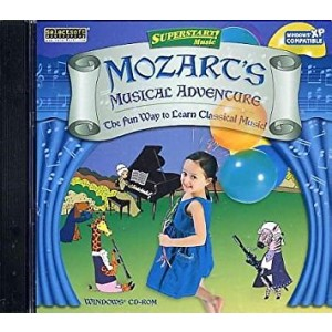 SelectSoft Publishing SUPERSTART - MOZARTS MUSICAL ADVENTURE