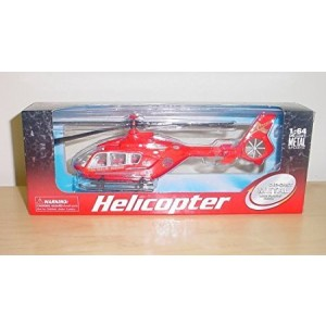 Halsalls 20cm Diecast Metal Helicopter 1:64 Scale (h149)