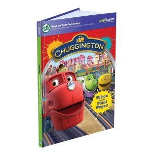 LeapFrog Enterprises LeapFrog LeapReader Book: Chuggington: Wilson and the Paint Wagon (works with Tag)