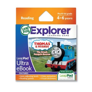 LeapFrog Enterprises LeapFrog LeapPad Ultra eBook Adventure Builder: Thomas and Friends: The Great Penguin Rescue (works with all LeapPad tablets)