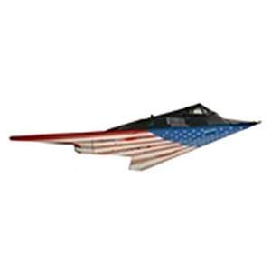 Model Power 1/150 DC F117 Stealth,Stars And Stripes