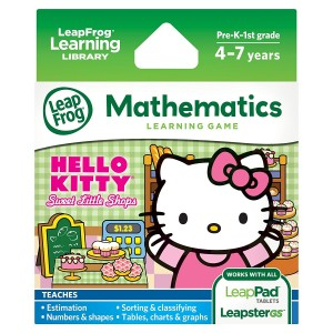 LeapFrog Enterprises LeapFrog Learning Game Hello Kitty: Sweet Little Shops (works with LeapPad tablets and LeapsterGS)