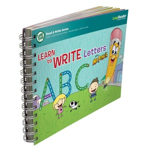 LeapFrog Enterprises LeapFrog LeapReader Deluxe Writing Workbook: Learn to Write Letters with Mr. Pencil
