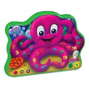 The Learning Journey Touch and Learn, Count and Learn Octopus
