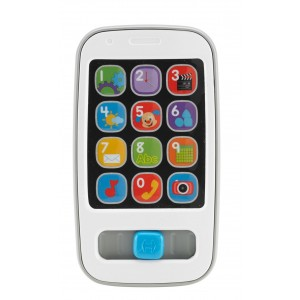 Fisher-Price Laugh and Learn Smart Phone, White