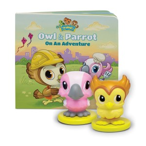 LeapFrog Enterprises LeapFrog Learning Friends Owl and Parrot Figures with Board Book