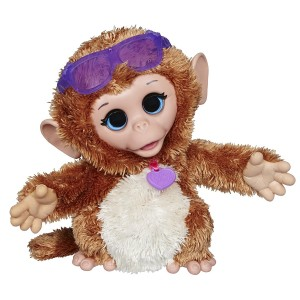 Fur Real Friends FurReal Friends Baby Cuddles My Giggly Monkey Pet Plush