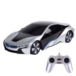 Liberty Imports BMW i8 Concept Radio Remote Control RC Sports Car 1:24 Scale Model Car