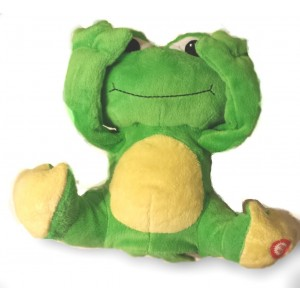 Giggles International Limited Animated Peek-a-boo Animal (Frog)
