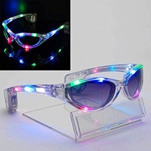 Mammoth Sales Spaceman Light Up LED Glasses / Shades - Multi Color