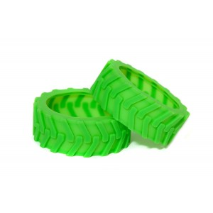 Sphero Ollie Monster Tires - Green - Designed for Traction By Hexnub