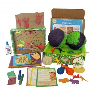 Green Kid Crafts, Dinosaur Science Discovery Box