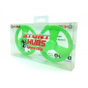 Sphero Ollie Stunt Hubs - Green - Built for Tricks by Hexnub