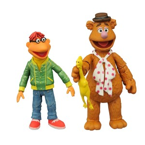 Diamond Select Toys The Muppets: Fozzie and Scooter Multi-Pack Action Figure