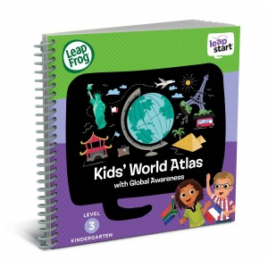 LeapFrog Enterprises LeapFrog LeapStart Kindergarten Activity Book: Kids' World Atlas and Global Awareness