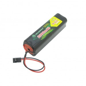 Geilienergy 9.6v 2000mAh Square Futaba NT8S600B Transmiter Battery Pack with Hitec connector for RC Airplanes ,Cars,Heli,Sailplanes