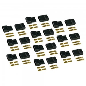 Crazepony 10pairs Traxxas Plug Connectors for RC Lipo Battery Motor